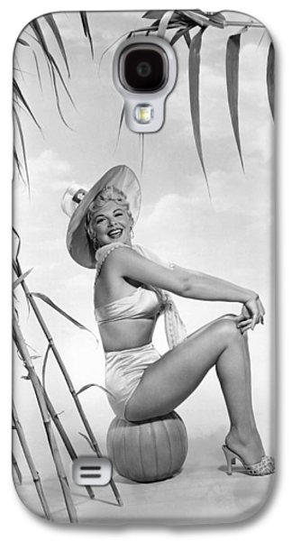 Actress Barbara Nichols Galaxy S4 Case by Underwood Archives