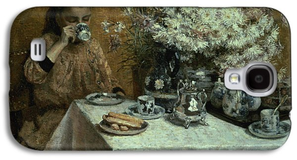 Afternoon Tea Galaxy S4 Case by Isidor Verheyden