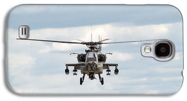 Ah-64 Apache Galaxy S4 Case by Sebastian Musial