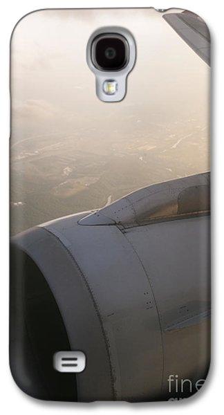 Airplane Engine Galaxy S4 Case by Shannon Fagan