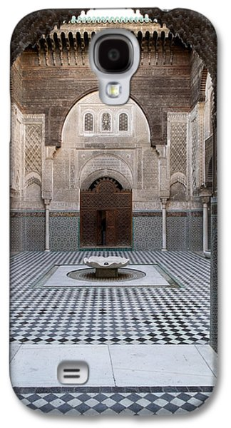 Al-attarine Madrasa Built By Abu Galaxy S4 Case by Panoramic Images