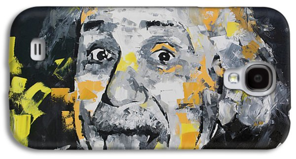 Albert Einstein II Galaxy S4 Case by Richard Day