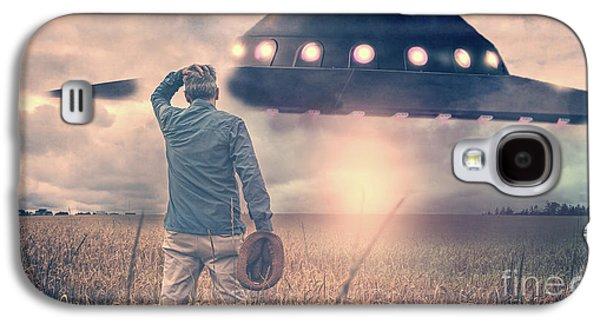 Alien Encounter Galaxy S4 Case