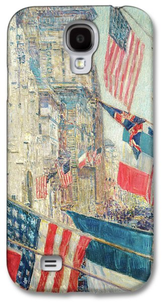 Allies Day - May 1917 Galaxy S4 Case by Childe Hassam