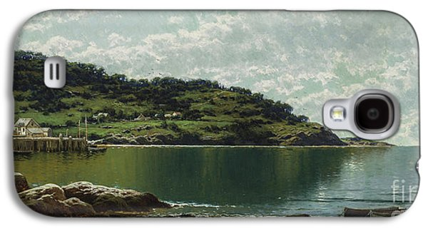 Along The Maine Coast Galaxy S4 Case by Alfred Thompson Bricher