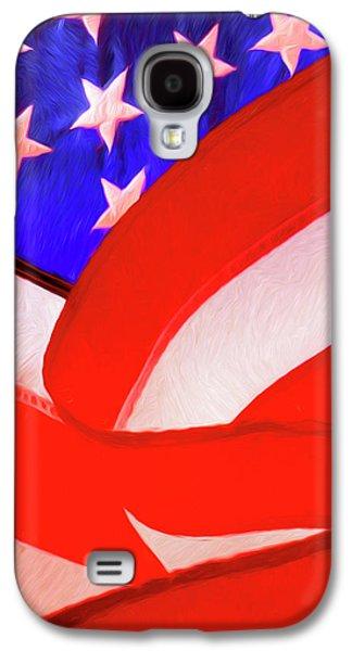 American Flag Galaxy S4 Case by George Robinson
