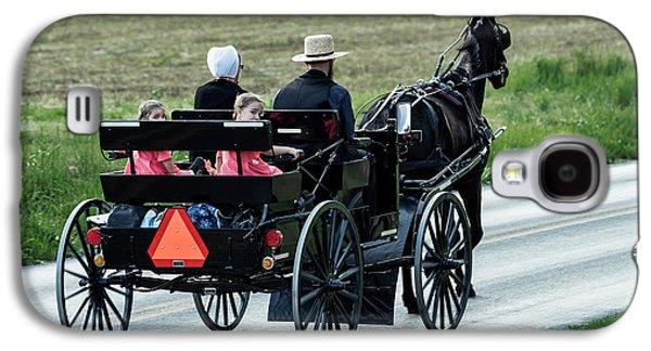 Amish Family Galaxy S4 Case by John Greim