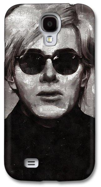 Andy Warhol, Arist Galaxy S4 Case by Mary Bassett