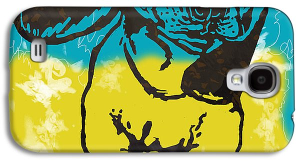 Animal Pop Art Etching Poster - Dog - 11 Galaxy S4 Case by Kim Wang