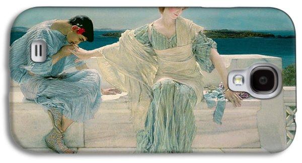 My Ocean Galaxy S4 Cases - Ask me no more Galaxy S4 Case by Sir Lawrence Alma-Tadema