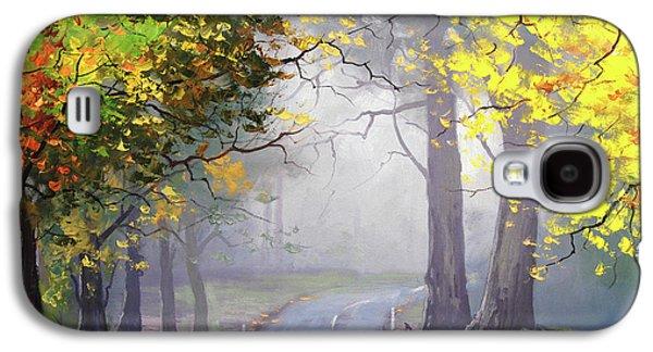 Fall Scenes Galaxy S4 Case - Autumn Mt Wilson by Graham Gercken