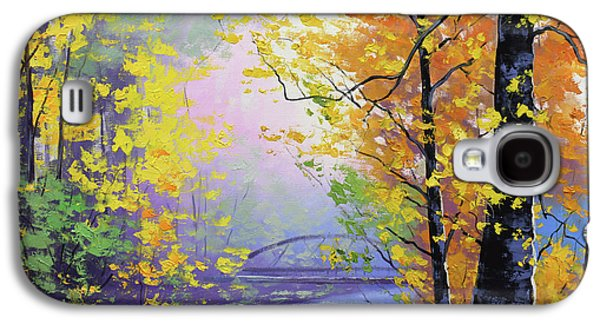 Fall Scenes Galaxy S4 Case - Autumn Reflections by Graham Gercken