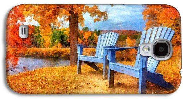 Autumn Splendor Watercolor Galaxy S4 Case