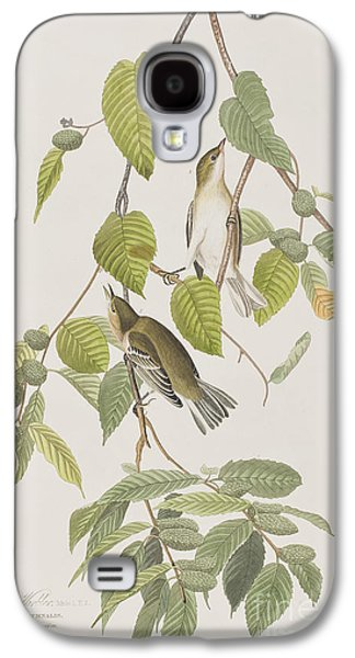Autumnal Warbler Galaxy S4 Case by John James Audubon