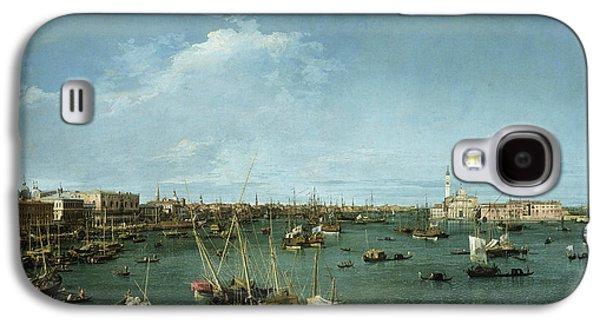Bacino Di San Marco, Venice Galaxy S4 Case by Canaletto