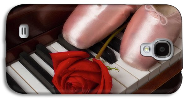 Ballet Shoes With Red Rose Galaxy S4 Case