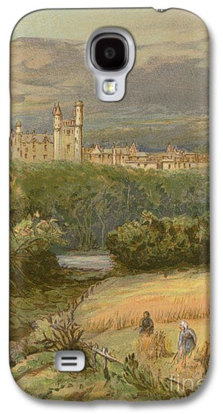 Balmoral Castle Galaxy S4 Case by English School