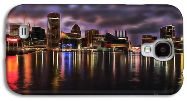Baltimore Maryland Skyline Galaxy S4 Case by Marvin Blaine