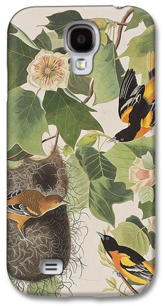 Baltimore Oriole Galaxy S4 Case by John James Audubon
