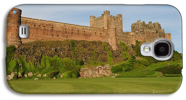 Castle Galaxy S4 Case - Bamburgh Castle by Smart Aviation
