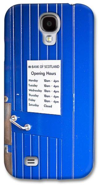 Bank Of Scotland Galaxy S4 Case by Tom Gowanlock