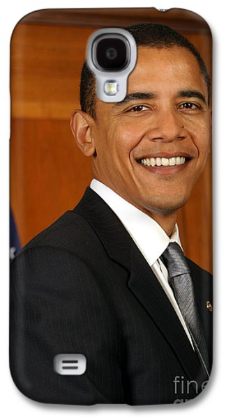 Barack Obama Galaxy S4 Case by Celestial Images