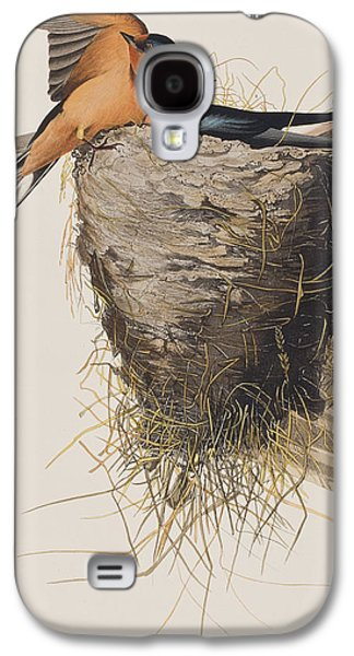 Barn Swallow Galaxy S4 Case by John James Audubon