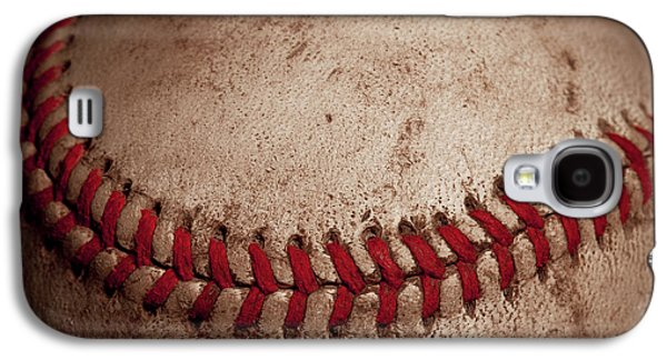 Galaxy S4 Case featuring the photograph Baseball Seams by David Patterson