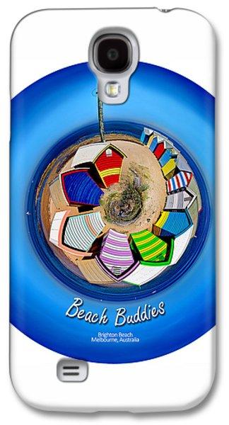 Beach Buddies  Galaxy S4 Case by Az Jackson