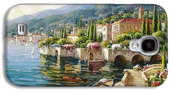 Bellagio, Lago Di Como Galaxy S4 Case by Lucio Campana