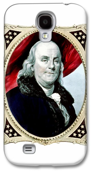 Ben Franklin Galaxy S4 Case by War Is Hell Store