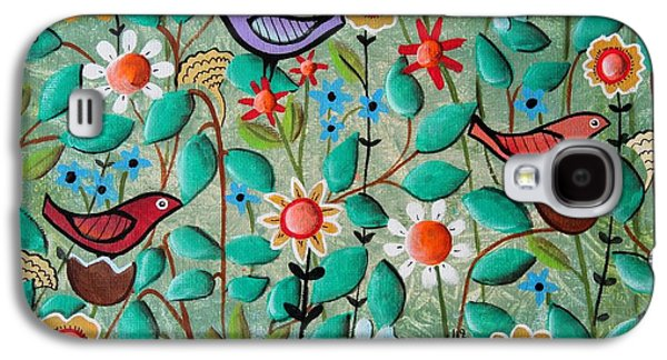 Birds And Blooms Galaxy S4 Case by Karla Gerard
