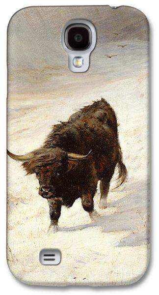 Scotland Galaxy S4 Case - Black Beast Wanderer by Joseph Denovan Adam