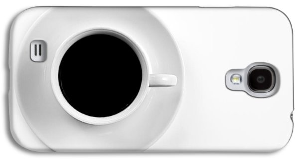 Black Coffee Galaxy S4 Case
