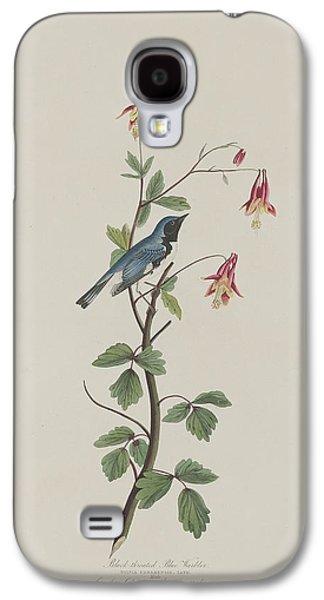 Black-throated Blue Warbler Galaxy S4 Case by Anton Oreshkin