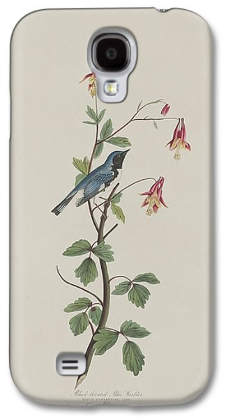 Warbler Galaxy S4 Case - Black-throated Blue Warbler by Dreyer Wildlife Print Collections