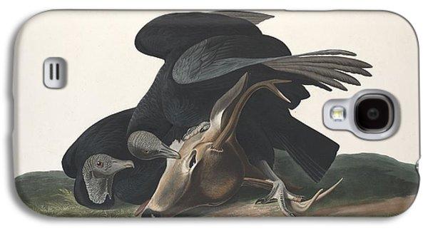 Black Vulture Galaxy S4 Case by Anton Oreshkin