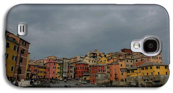 Boccadasse Bay, Genoa, Italy Galaxy S4 Case