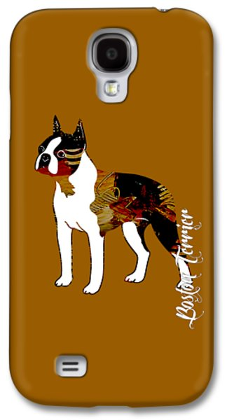 Boston Terrier Collection Galaxy S4 Case by Marvin Blaine