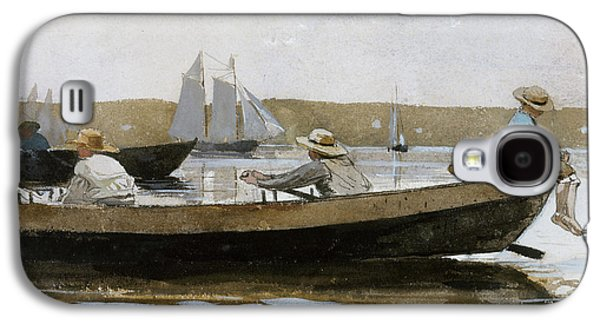 Boys In A Dory, 1873  Galaxy S4 Case by Winslow Homer