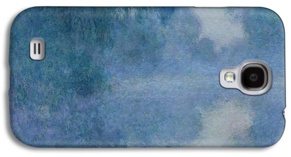 Impressionism Galaxy S4 Case - Branch Of The Seine Near Giverny by Claude Monet