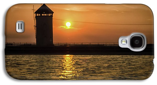 Brightlingsea Sunset Galaxy S4 Case by Martin Newman
