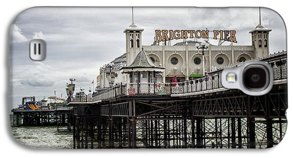 City Sunset Galaxy S4 Case - Brighton Pier by Martin Newman