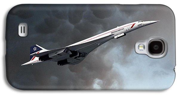 British Airways Concorde Galaxy S4 Case