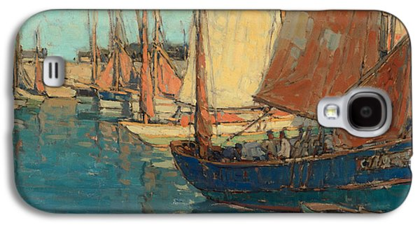 Brittany Boats Galaxy S4 Case
