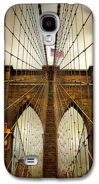 Brooklyn Bridge Twilight Galaxy S4 Case by Jessica Jenney