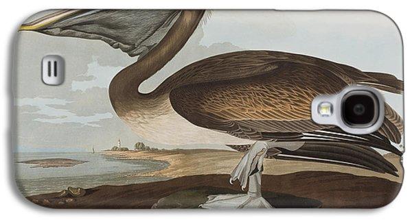 Brown Pelican Galaxy S4 Case by John James Audubon