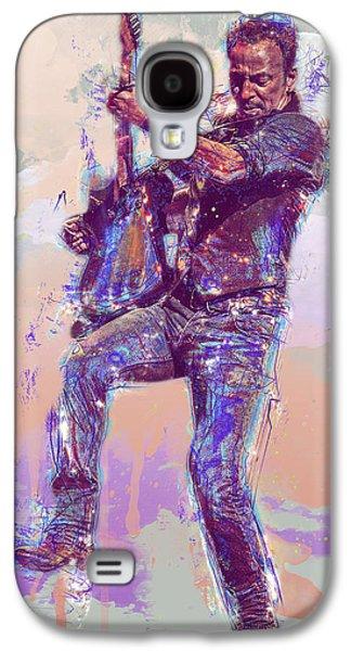 Bruce Springsteen Galaxy S4 Case by Elena Kosvincheva