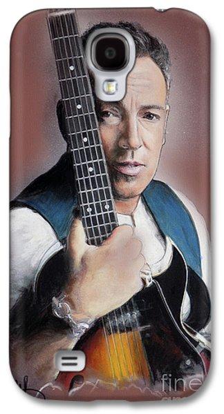 Bruce Springsteen Galaxy S4 Case - Bruce Springsteen by Melanie D