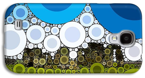 Bubble Art Stonehenge Galaxy S4 Case by John Springfield